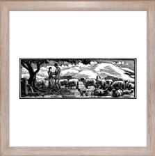 Shepherd and Shepherdesses state 2 - Ready Framed